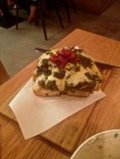 Focaccia with chorrito