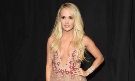 Carrie Underwood Stunned in a Naked Dress at the CMAs