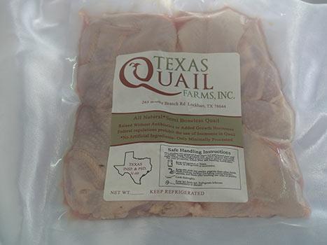 fresh quail