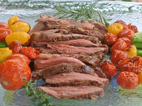 lamb sirloin platter