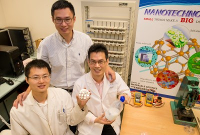 Os pesquisadores já licenciaram a tecnologia, e afirmam que as baterias ultrarrápidas poderão chegar ao mercado em dois anos. [Imagem: NTU]