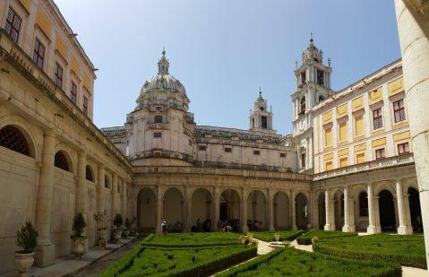Mafra Palace Courtyard | Pátio Interno, Palácio de Mafra
