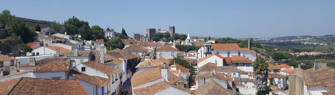 Óbidos - View from top of walls | Vista da muralha