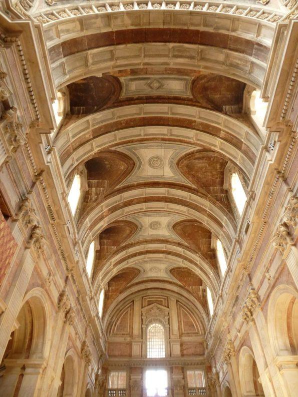 Ceilings, Mafra Palace   Teto, Palácio de Mafra