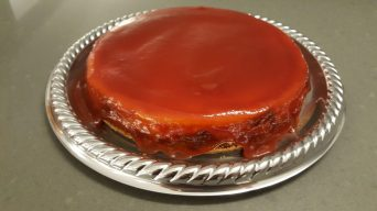 Cover the cheesecake | Cubra o cheesecake