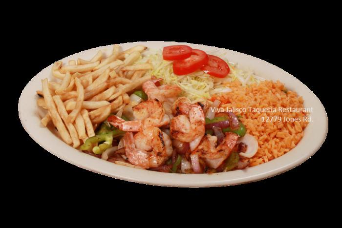 Camarone a la Plancha - Viva Jalisco Restaurant
