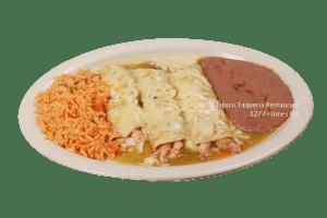 Enchilada Suiza - Viva Jalisco Restaurant