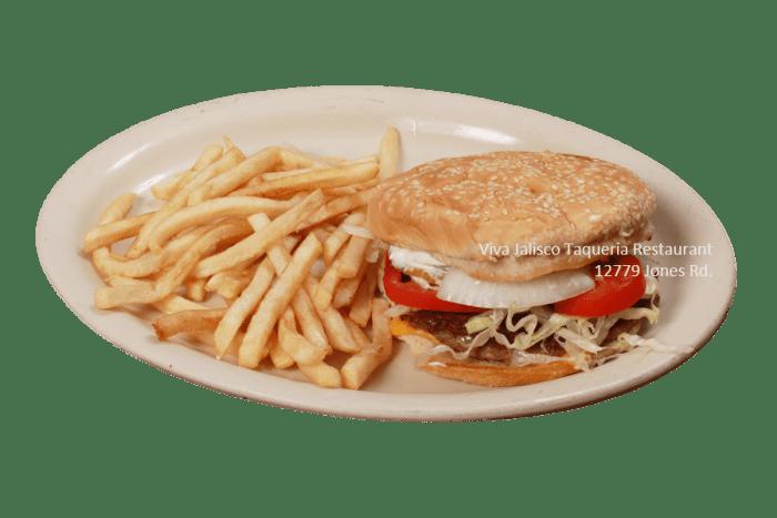 Hamburguesa - Viva Jalisco Restaurant