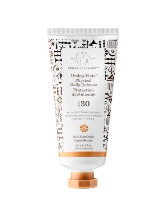 de tinted sunscreen spf 30
