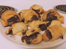 Chocolate Raspberry Crescent Rolls