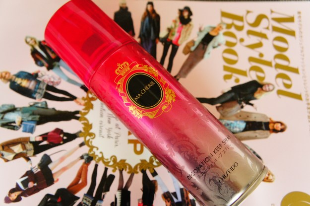 Shiseido Ma Cherie 資生堂 マシェリDecoration Keep Spray