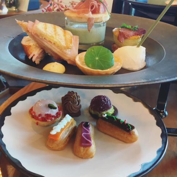 Afternoon tea at Andaz Toranomon Hills