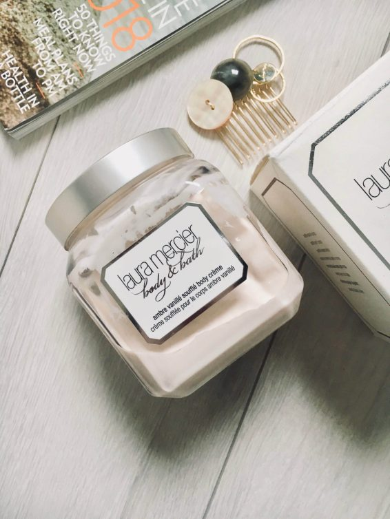 Best Luxury Skin Care Product: ローラメルシエ Laura Mercier Ambre Vanillè Soufflé Body Crème Review