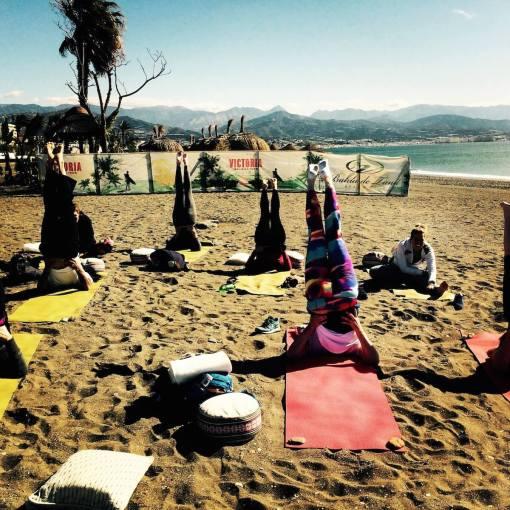 Beach Yoga Malaga