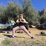 Yoga Retreat in Malaga - sirsasana