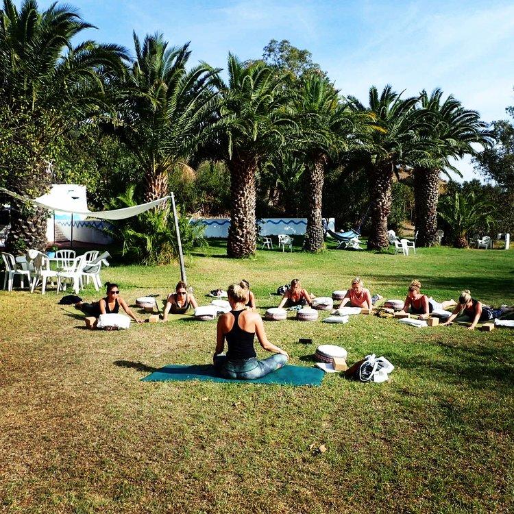 Yin & Yang retreat Viva La vida with Jane Bakx