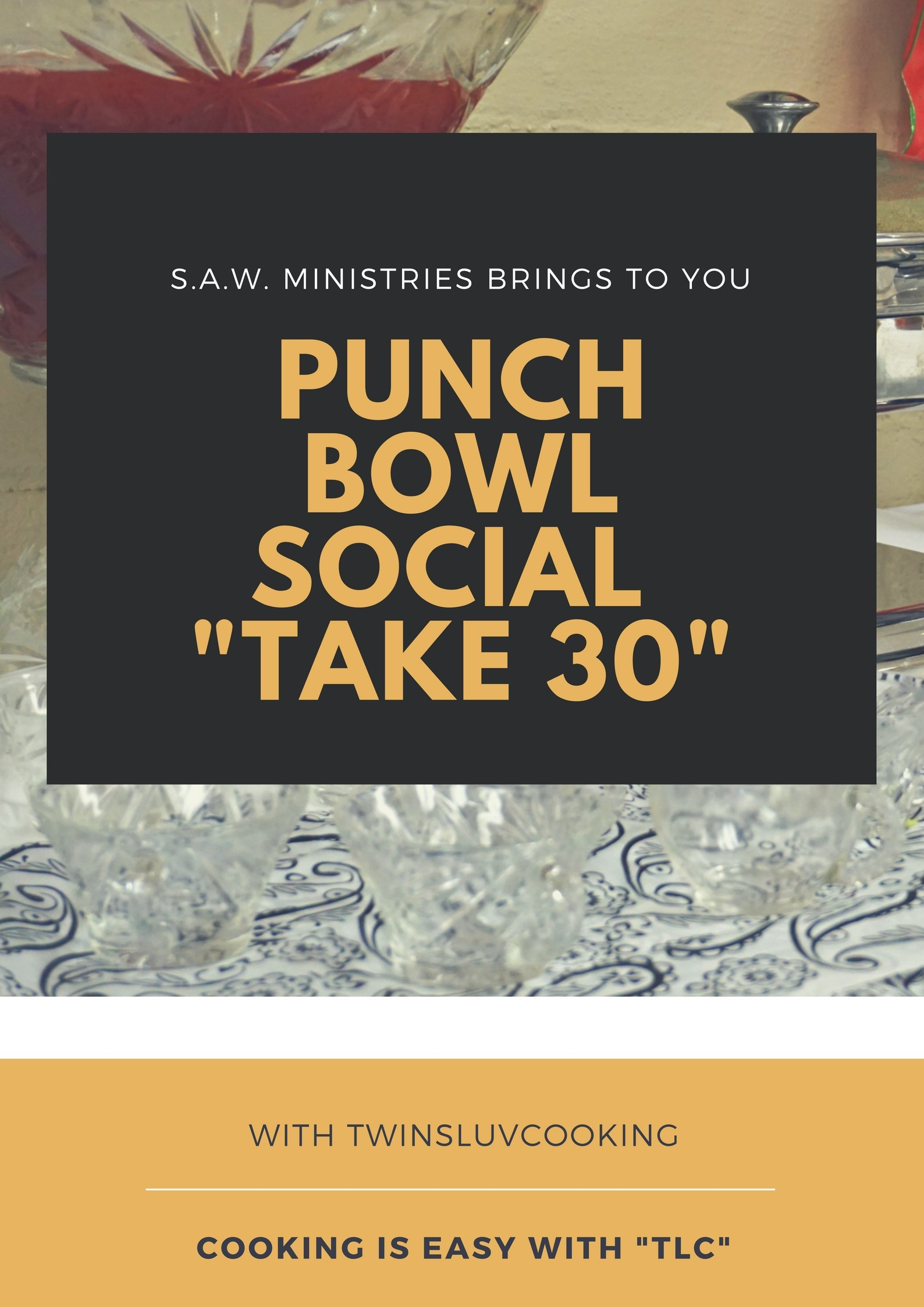 Punch Bowl Social – TwinsLuvCooking