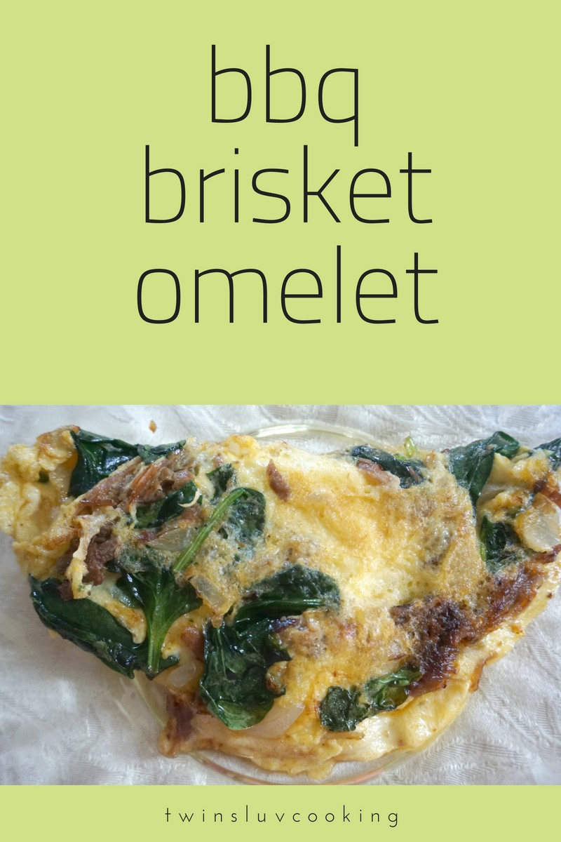 BBQ Brisket & Spinach Omelet