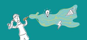 e-boek zakelijk tekenen laat je inner-tekenaar los in vijf stappen voor meer creativiteit en energie in je werk.