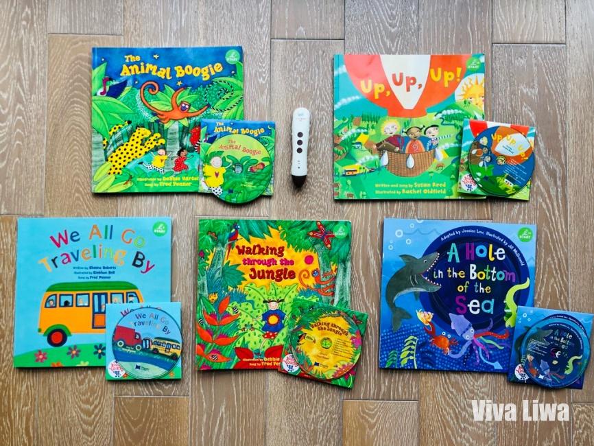 英文繪本 Barefoot Books 幼兒聽音樂唱歌學英語的神曲再現! KidsRead點讀筆
