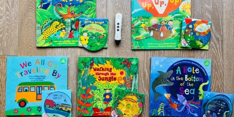 英文繪本|Barefoot Books|幼兒聽音樂唱歌學英語的神曲再現!|KidsRead點讀筆