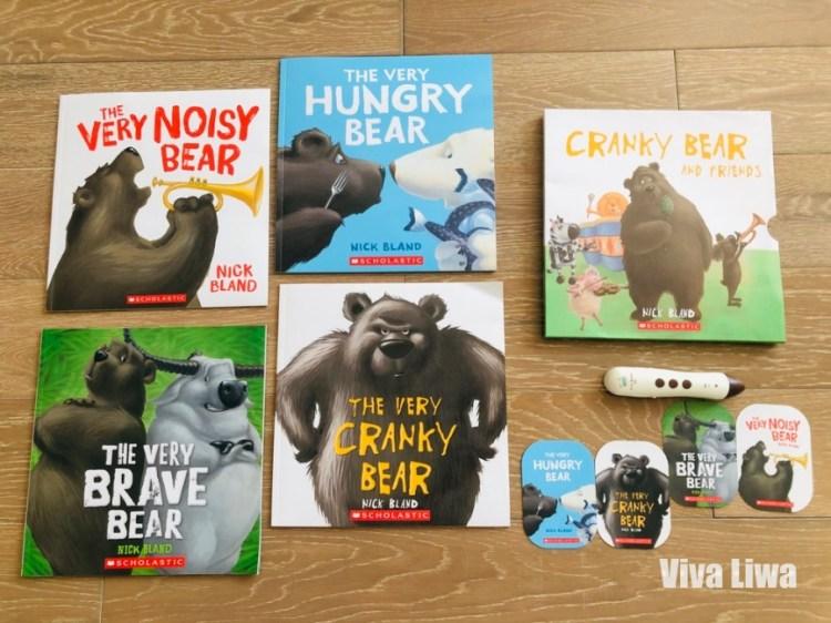 英文繪本|Scholastic|學習同理心的繪本The Very Cranky Bear|KidsRead點讀筆