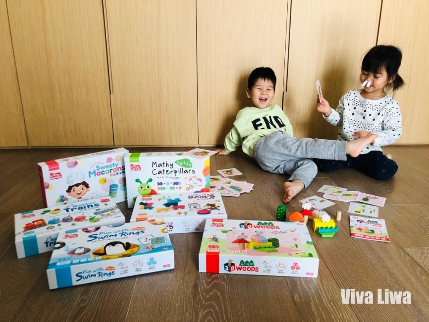 玩桌遊,學數學!3~7歲兒童桌遊推薦:企鵝找泳圈、3D森林樂園|小康軒KidsCorner生活數學桌遊
