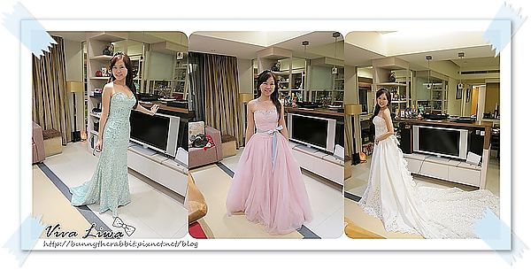 [女昏] 該怎樣挑禮服? 藏愛婚紗挑宴客服經驗分享