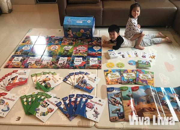 【書櫃】迪士尼英文閱讀俱樂部(下)B箱|涵蓋「聽說讀寫玩」的多元資源配套,學習更深入|KidsRead點讀筆