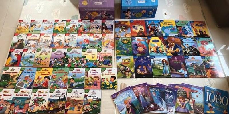 【書櫃】迪士尼英文閱讀俱樂部(上)A箱|親子共讀+分級閱讀,更能提升孩子的閱讀力|KidsRead點讀筆