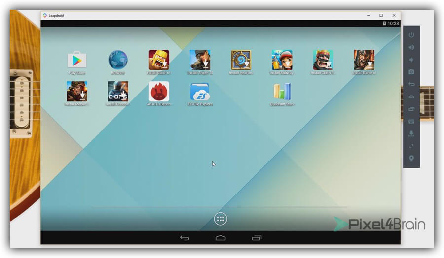 leapdroid emulador android