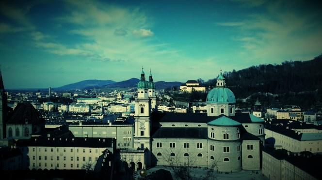 Salzburg - Numero Zwo unserer Nachbarschaftsvisiten zeigte sich äußerst aufgeräumt und fesch bei bestem Franz-Josef-Wetter