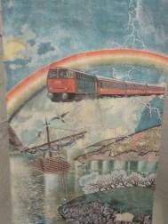 Mein Lebensgefühl in einem Bild. Herzlichen Dank dem unbekannten Eisenbahnromantiker.