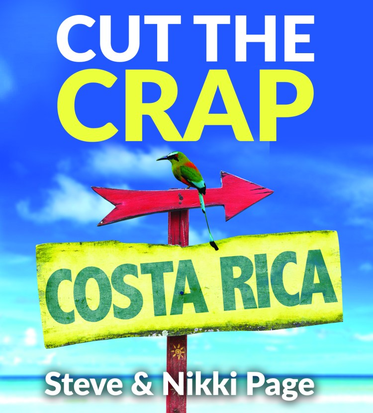 CTC the cut the crap and moved Costa Rica front book cover page