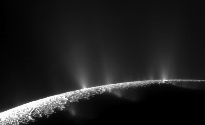 Гейзеры Сатурна
