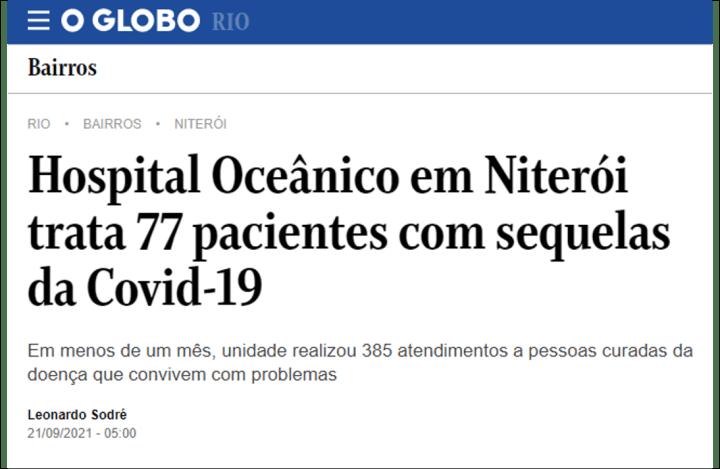 Jornal O Globo – 21-9-2021