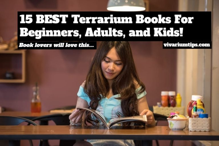 best terrarium books for beginners, adults, and kids