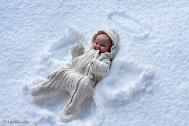 Make snow angels.