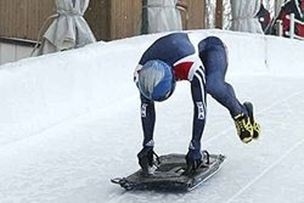 We need snow for skeleton, the sport with the most awesome name.