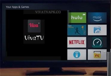 viva tv for firestick logo