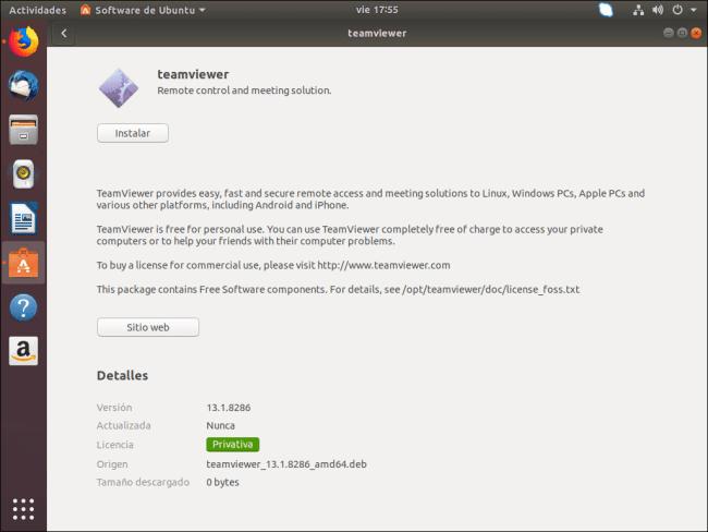 instalar teamviewer en ubuntu instalar