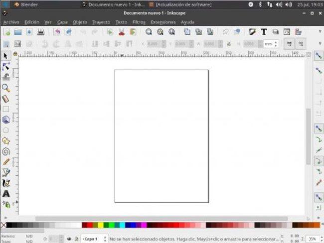 ubuntu studio escritorio Inkscape