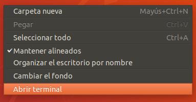 abrir terminal en ubuntu