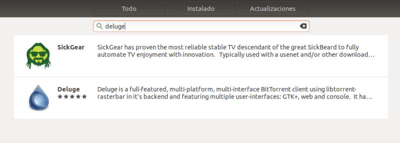 instalar deluge en ubuntu 18