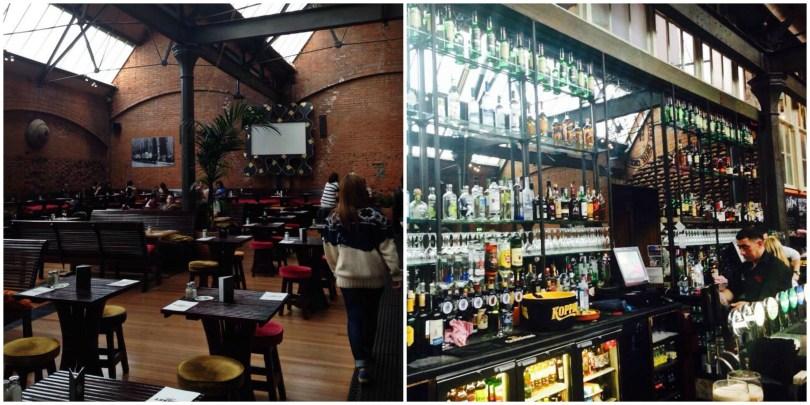 The market bar, Dublin
