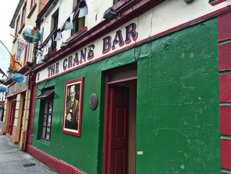 The Crane Bar, já considerado um dos melhores da Irlanda