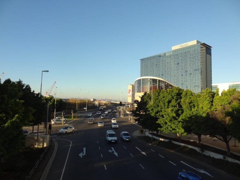 As avenidas e o hotel