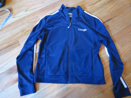 You don't have to work at Google to look like someone who works there. Size Large.