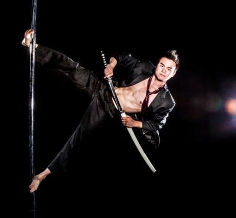 Kenneth Cao. Doctor by day, pole ninja by night!