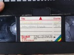 VHS pirated movies. TRASH.